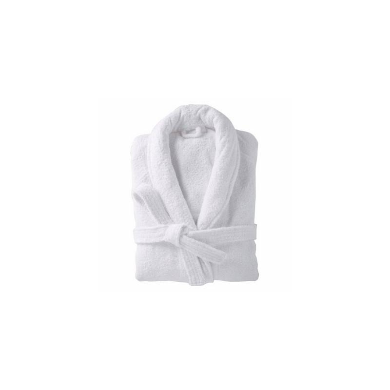 Peignoir doux et absorbant 100% coton col châle  - PROTOP - 400 gr/m²