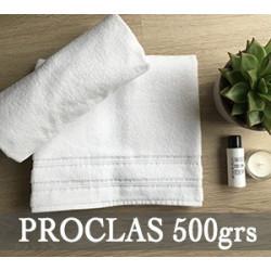 Linge de bain 100% coton de qualité confort - PROCLAS - 500 gr/m²