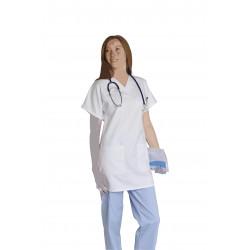 Blouse santé polycoton femme- FRANCOISE - 195 gr/m²