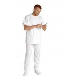 Blouse médicale homme - FRANCOIS - Polycoton 195 g