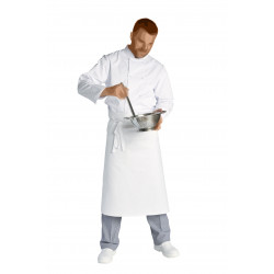 "Lot de 5 Tabliers dimensions 105 x 90 cm 100% coton - ""Chef"" - 260 gr/m²"