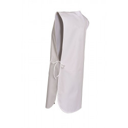 Chasuble d'entretien en polycoton | Taille unique | Blanche ou noire
