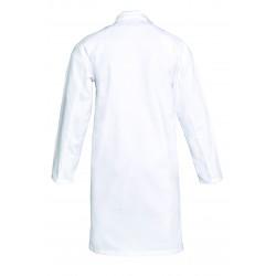 Blouse blanche   100% coton sergé   Tablier d'école