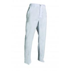 Pantalon PolyCoton - GUY - 2 poches élastique côté