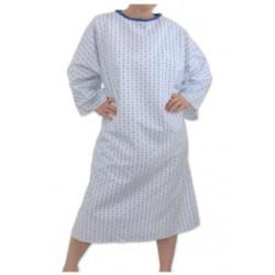 Chemise d'hospitalisation 3 finitions - LAMBDA - 140 gr/m²