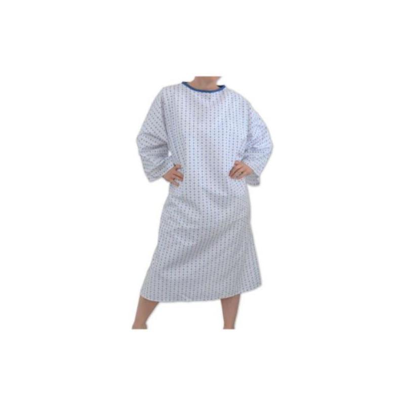 Chemise d'hospitalisation pour patient | 3 finitions
