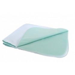 Alèse médicale barrière imperméable 100% polyester - KAPPA - 85 x 90 cm - 610 gr/m²