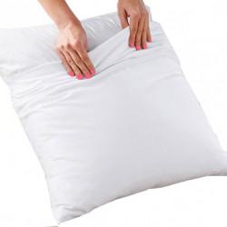 Taie d'oreiller avec rabat très résistant - ALPHA - 140 gr/m²