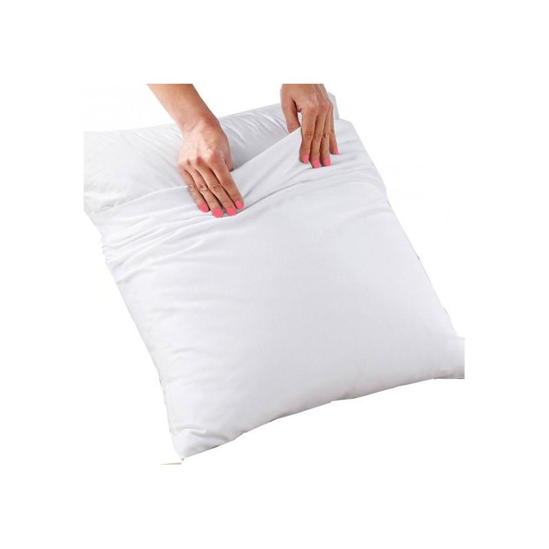 Taie d'oreiller à utilisation médicale | Très résistant | Polycoton