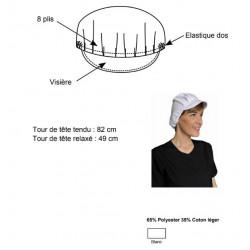 Charlotte de protection en tissu - lavable réutilisable - COVID19