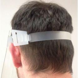 Visière de protection COVID 19 - Ecran facial professionnel TEXTIMED