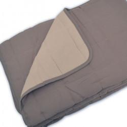 Couvre lit matelassé bicolore pour collectivité et santé - TEXTIMED