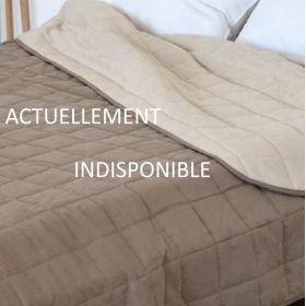 Couvre lit matelassé pour collectivité - SOHO - 270 gr/m²