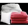 Couettes, oreillers et couvertures pour EHPAD